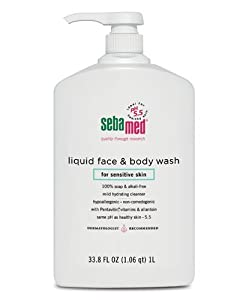Sebamed Face and Body Wash, 33.8-Fluid Ounces Bottle