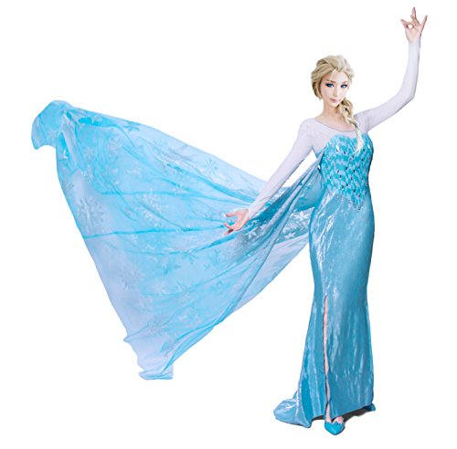 Angel-secret Women's Frozen Dress Custom Made Size