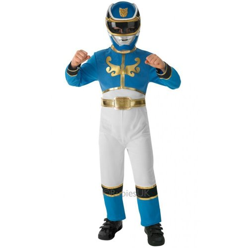 Power Rangers Megaforce Blue Costume - Kids - Large