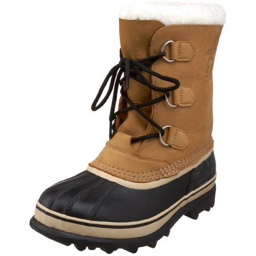 Sorel Youth Caribou - Stivali da Neve Unisex - Bambini, Marrone (Buff 281Buff 281), 38 EU