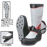 がまかつ(Gamakatsu) GM-437 フェルトスパイク(パワータイプ)ブーツ(レギュラー) グレー×レッド 2S GM-437