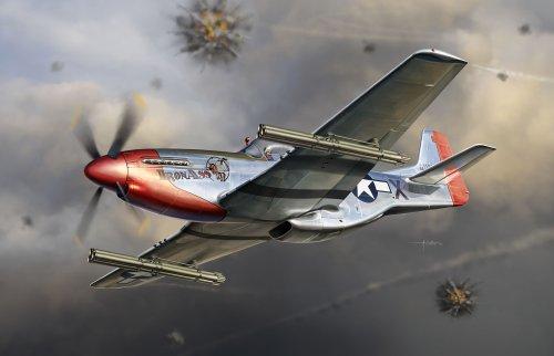 Dragon-500773224-132-P-51K-Mustang-w-M10-Rocket-45-Inch