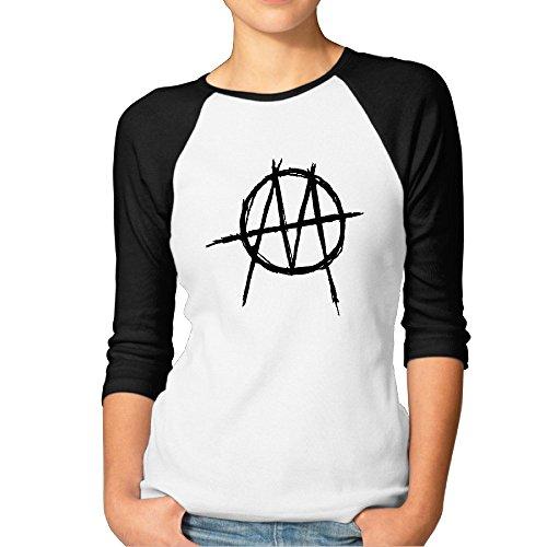 ministry-iron-man-logo-fashion-women-3-4-sleeve-t-shirts-t-shirt