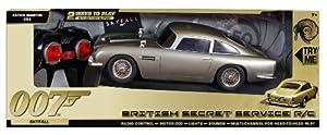 James Bond 50th Anniversary Aston Martin DB5 Radio Controlled, 28cm--SKYFALL