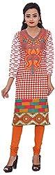 KIMYRAA Women's Cotton Kurta (KLK-1004-MULTI-M)