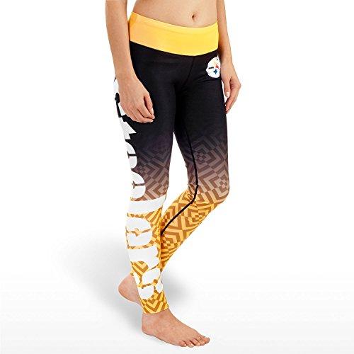d6d6f5ce Pittsburgh Steelers Ladies Gradient Leggings Yoga Pants at SteelerMania