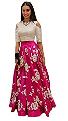Astha bridal women bengolory silk lehenga(shraddha kapoor_pink_42)