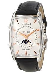 Louis Erard Men's 44211AA01.BDC51 1931 Automatic Tonneau Black Perpetual Date Watch