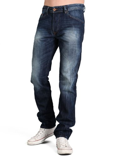 Diesel Darron Rtq8 Droite Resserré Blue Man Jeans Men - W33 L32