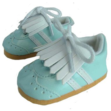 Teal Golf Shoes for 18 Inch Dolls Like American Girl