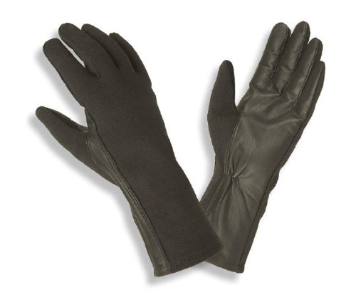 Hatch Nomex Flight Gloves - BNG200 - OD Green - Size: Large
