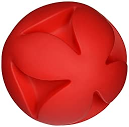 Soft-Flex Best Clutch Ball Dog Toy, 7-inch Red