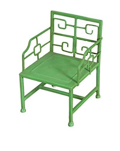 Winward Deco Mini Iron Chair, Green