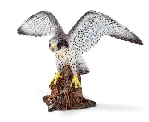 Schleich Peregrine Falcon Toy Figure - 1