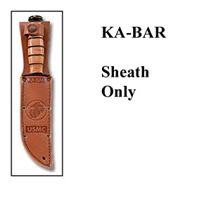 Brown Leather Sheath For KB1217