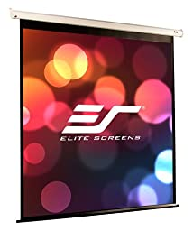 Elite Screens VMAX2, 166-inch 16:9, Wall Ceiling Electric Motorized Drop Down HD Projection Projector Screen, VMAX166XWH2