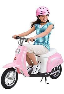 Razor Pocket Mod Bella 24V Electric Girl Scooter - Pink | 15130610 by Razor
