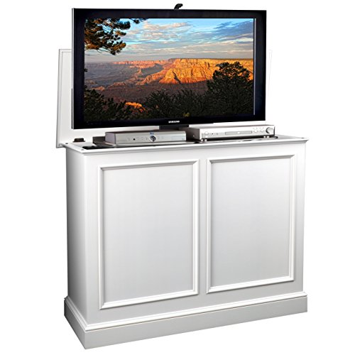 TVLiftCabinet, Inc Carousel White TV Lift Cabinet (Tvliftcabinet Inc compare prices)