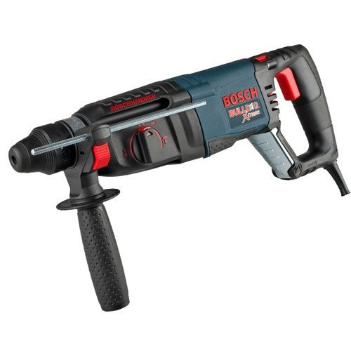 Factory-Reconditioned Bosch 11255VSR-RT BULLDOG Xtreme 1-Inch SDS-plus D-Handle Rotary Hammer (1 2 Hammer Drill Reconditioned compare prices)