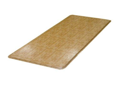 Lets Gel Inc GelPro Designer Comfort Anti Fatigue and Kitchen Floor Mat, Caramel