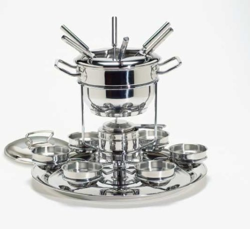 Buy Gourmet Standard FDLS11015 Fondue Set 2.5 qt capacity with Lazy Susan