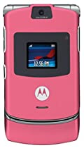 Hot Sale Motorola RAZR V3 Unlocked Phone with Camera and Video Player--U.S. Version with Warranty (Pink)