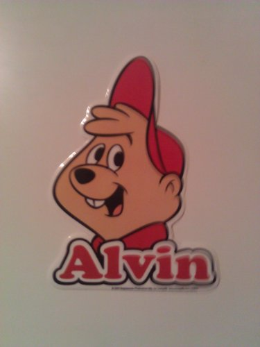 The Chipmunks TV Show/Movie Sticker - Alvin Coupon 2016