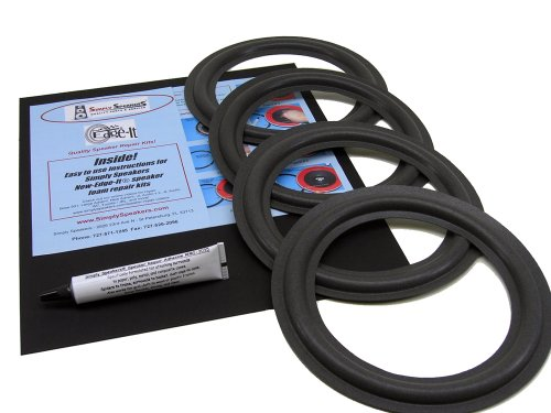 "Bose 601, 601 Series Ii, 10.2, 8"" Foam Speaker Repair Kit Fsk-8-4 (4 Pack)"