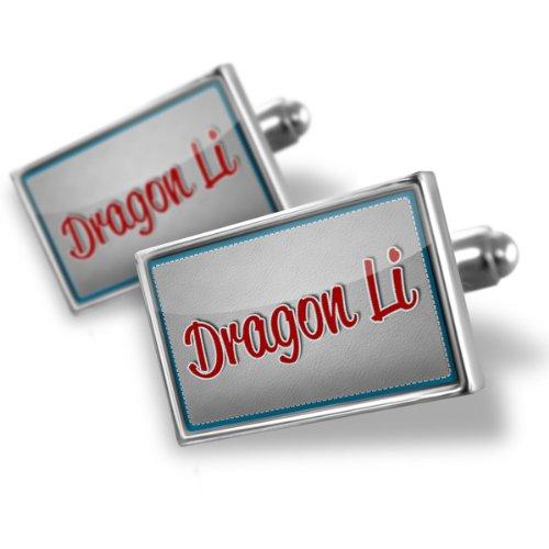 Sterling Silver Cufflinks Dragon Li, Cat Breed China – Neonblond