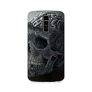 Ebby Skull Brain Premium Printed Case For LG K7