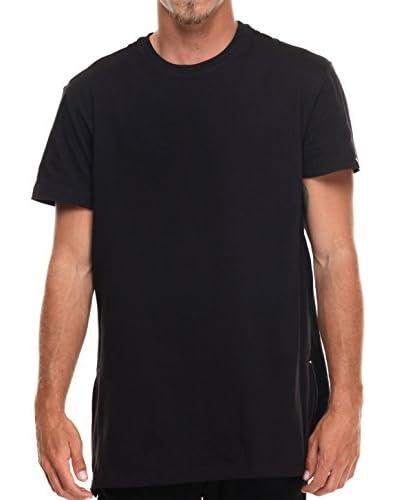Akademiks Men's Harlem Jersey T-Shirt with Side Zipper