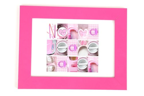 Personalised Door Plaque Pink from Namephrame