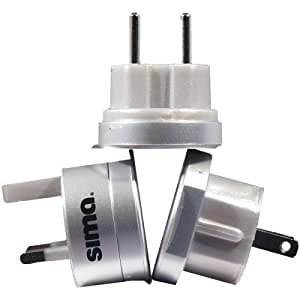 Sima SIP-3 Ultimate International Travel Adapter Plug Set