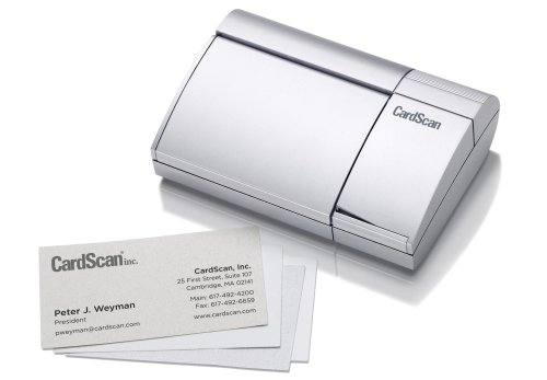 Review Of CardScan Personal v8 Card Scanner