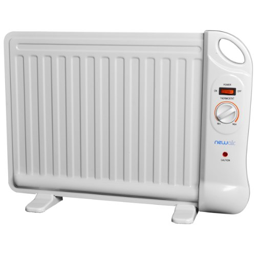 NewAir AH-400 Portable Space Heater, White (Oil Filled Heater Switch compare prices)