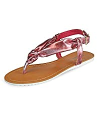 Yepme Pink Sandals -- YPWFOOT9308_6