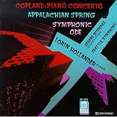 Concerto Piano/Appalachian/Symphony Ode