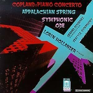 Pno Cto/Appalachian Spring/Sym