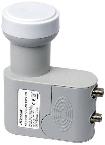 STRONG SRT L 721 Universal Twin LNB für digitalen SD und HD (3D) Empfang, 2 Ausgänge zum direkten Anschluss an 2 Receiver