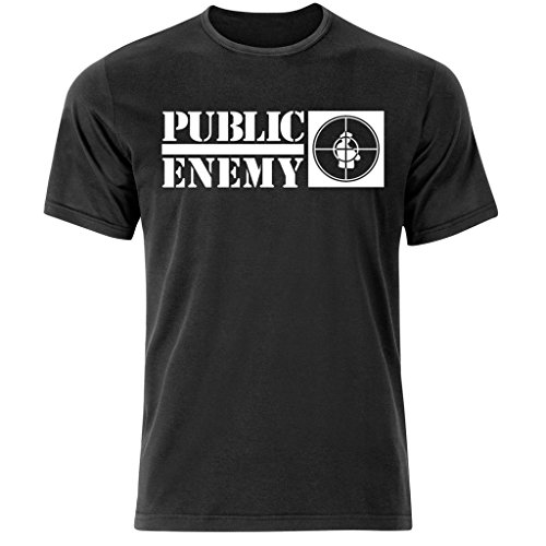 Pubblico Enemy Hip Hop T-Shirt (s-3xl) Rap Alleanza/Run DMC Old Skool