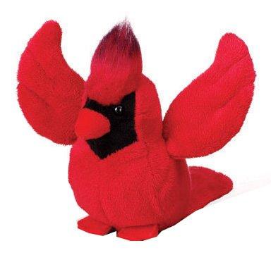 Ganz Lil' Webkinz Plush - Lil' Kinz Cardinal Stuffed Animal - 1