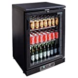 Polar Single Door Bar Display Bottle Cooler cb929 - 112 x 330ml Bottle Capacity.