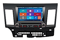 See Crusade Car DVD Player for Mitsubishi Lancer 2007- Support 3g,1080p,iphone 6s/5s,external Mic,usb/sd/gps/fm/am Radio 8 Inch Hd Touch Screen Stereo Navigation System+ Reverse Car Rear Camara + Free Map Details