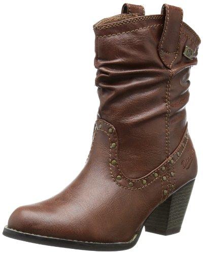 Dockers 334605-133537 - Botas De Vaquero mujer, color marrón, talla 40
