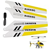 DIGIFLEX Rotor Blades - full set of 4 - for Syma S107 R/C Gyro Helicopter