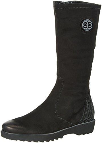 ara 12-41562 - Stivali alti imbottiti caldi Donna, colore Nero (Schwarz 61), taglia 42EU