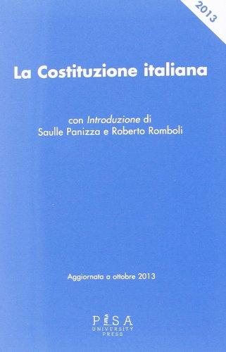 La Costituzione italiana PDF