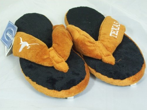 Texas Longhorns NCAA Flip Flop Thong Slippers at Amazon.com
