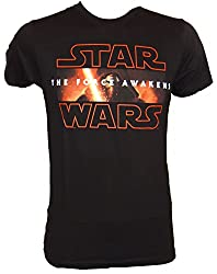 Star Wars Kylo Ren The Force Awakens Mens T-Shirt (Extra Large,Black)