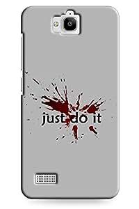 IndiaRangDe Designer Mobile Back Cover for Huawei Honor Holly